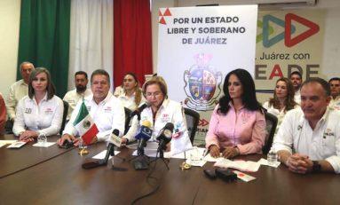 Propone Adriana Terrazas que Juárez sea un estado más de la República Mexicana
