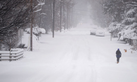 Catastrófica tormenta invernal en Denver similar a huracán categoria 2