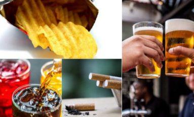 En puerta incremento al precio de cerveza, cigarros, sodas y papitas