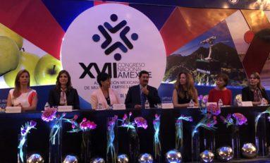 Inauguran 23 Congreso Nacional de Amexme; particpan 400 empresarias