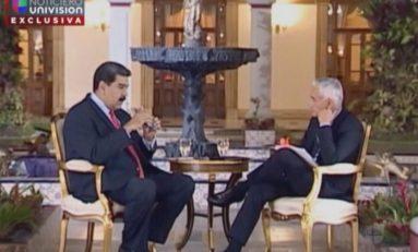 Te vas a tragar con Coca-Cola tu provocación, dijo Maduro a Jorge Ramos