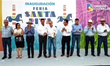 Inauguran Feria de Santa Rita 2019
