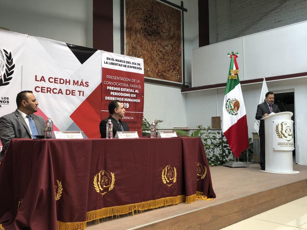 """Convoca CEDH al primer """"Premio Estatal de Periodismo en Derechos Humanos"""""""