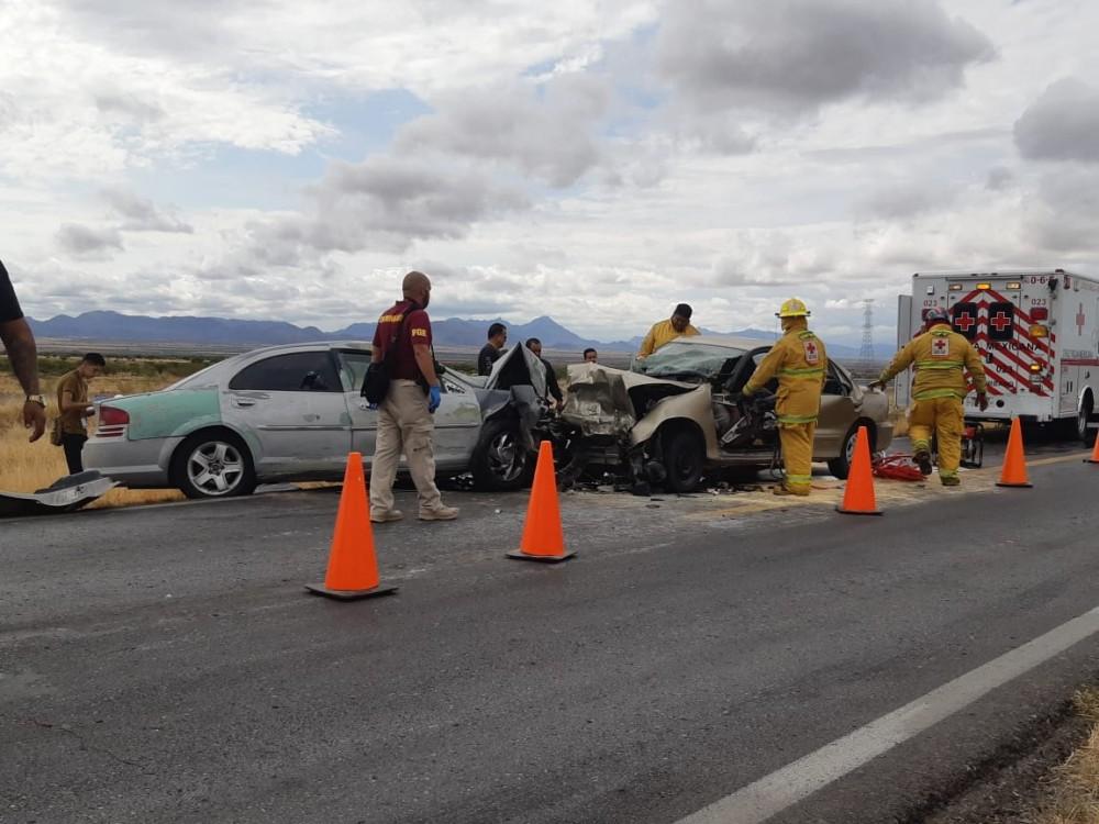 Murió familia completa en accidente rumbo a Parral