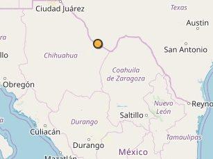 Registran sismo de 4.5 grados Richter en Ojinaga