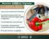 Como evitar intoxicaciones por consumo de alimentos contaminados
