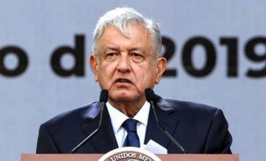 Informe de AMLO en el Zócalo de la Cd. México, a un año de ganar las elecciones