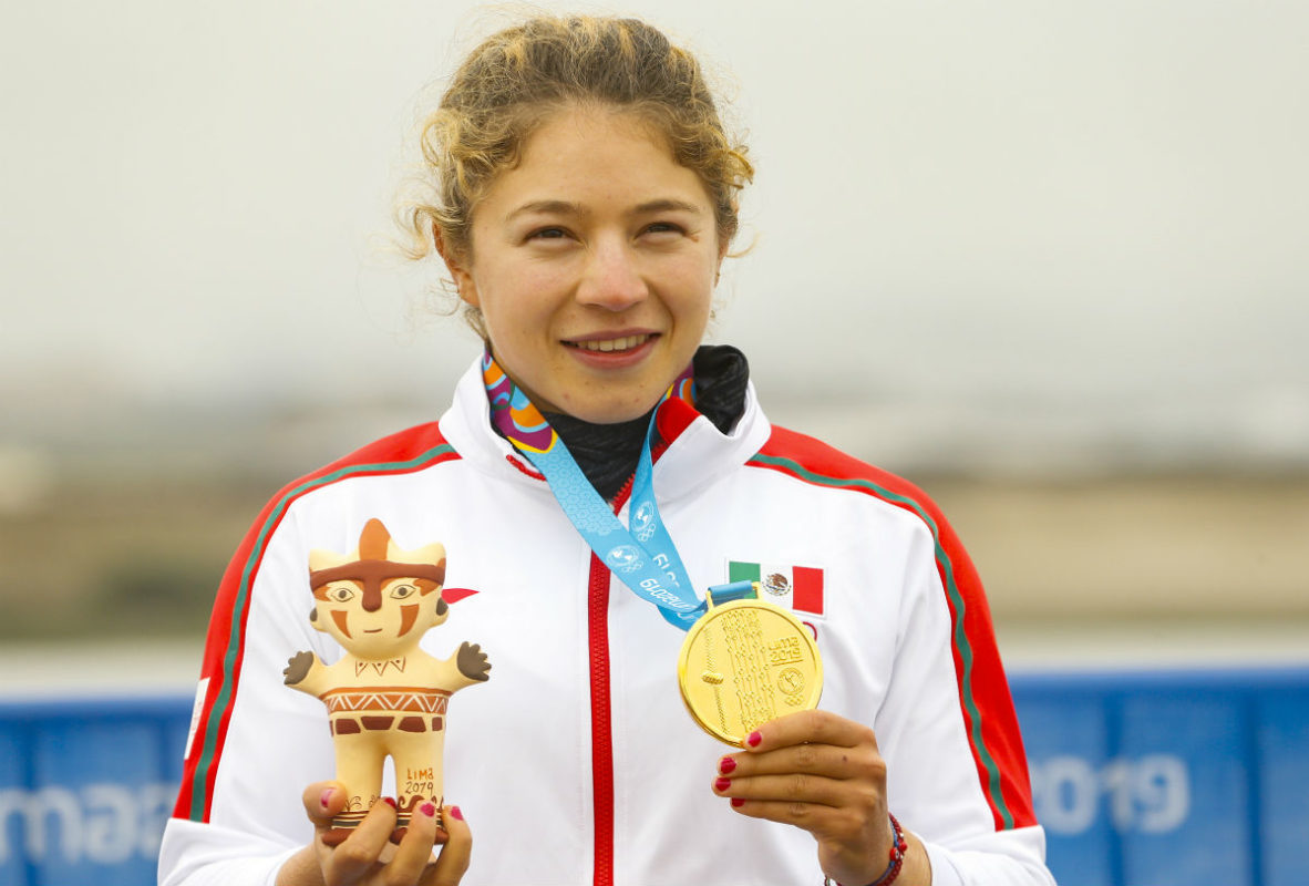 Logra Beatriz Briones segunda medalla en canotaje en Juegos Panamericanos Lima 2019