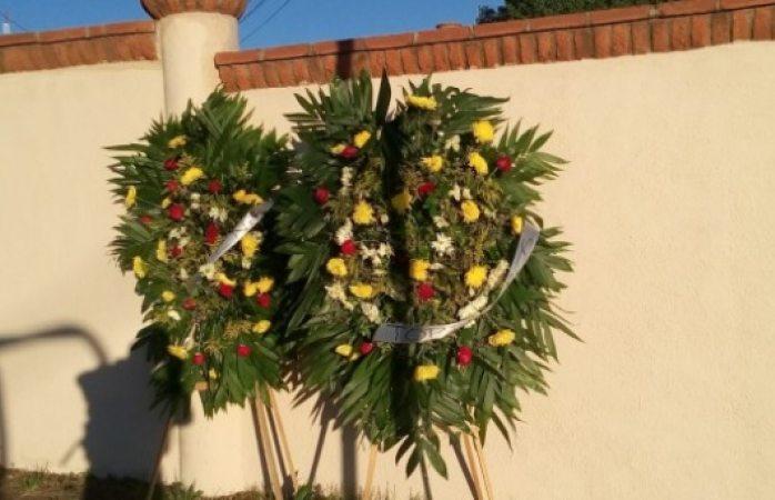 Envían coronas de muerto a alcalde y secretario de Cuauhtémoc