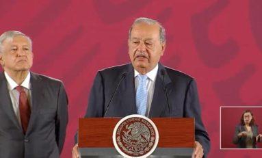 """Con el """"acuerdo gasero"""" habrá más inversiones y gas más barato: Carlos Slim"""