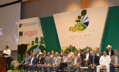 """Inicia hoy ExpoAgro 2019; temas centrales """"mejora en la producción y cuidado del agua"""""""
