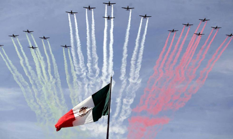 Armada de México listos para desfile del 16 de septiembre