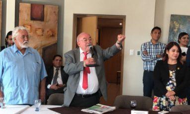 Cita Aguilar a primera sesión como nuevo presidente de JUCOPO
