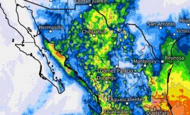 Lluvias muy fuertes de 75 a 150 litros por metro cuadrado en Chihuahua: SMN