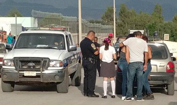 Reportan robo de niña en primaria Independencia en la Nueva España
