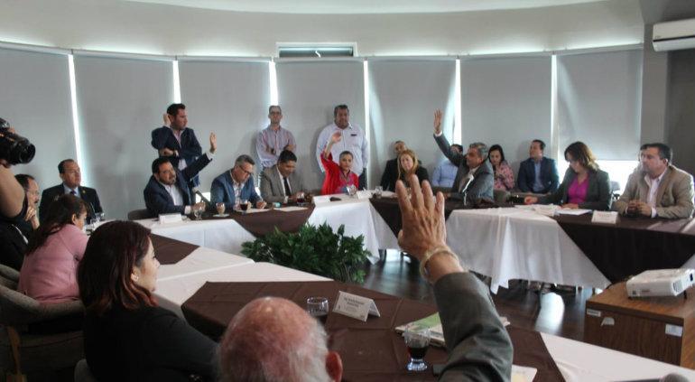Designan a Rubén Aguilar como Presidente de la JUCOPO