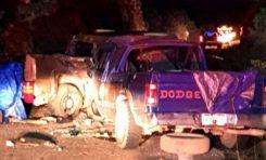Muere mujer de 70 años en choque en carretera a San Juanito