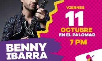 Inicia hoy Festival Internacional de la Ciudad de Chihuahua: Benny Ibarra gratis en el Palomar