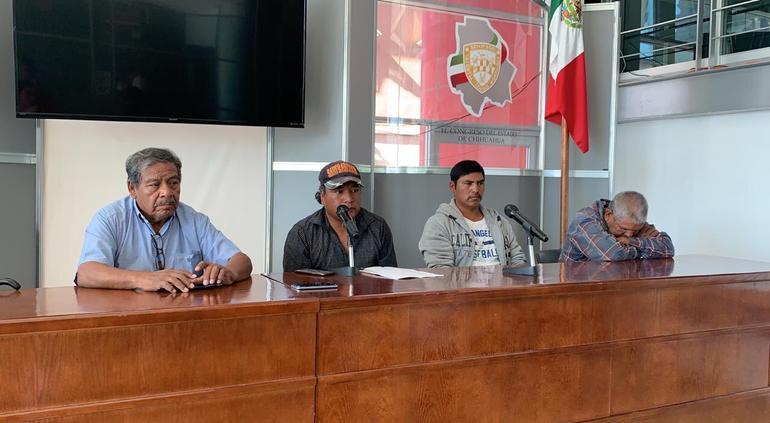 Rarámuris advierten que marcharan de nuevo por el hambre sino llegan apoyos de AMLO