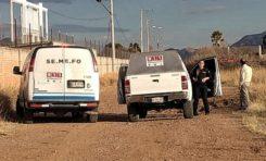Localizan joven ejecutado en carretera de La Junta
