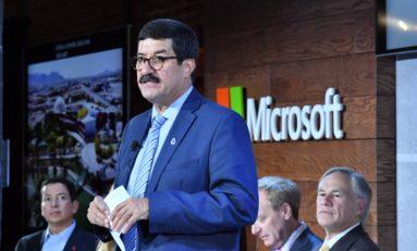 Se incorpora Microsoft al desarrollo de un puente tecnológico entre Chihuahua y Texas