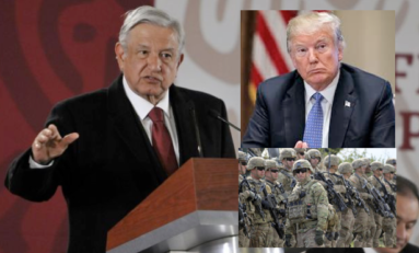 "Si México solicita ayuda EU está listo para ""limpiar a los cárteles"": Trump"
