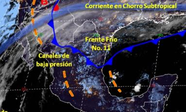 """Alerta """"Tiempo Severo"""" mínima de 0℃  y máxima de 7℃ el martes 12 en Chihuahua"""
