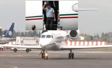 Llega Evo Morales a Ciudad de México