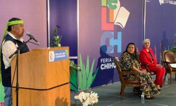 Recibe Jesús Manuel Palma Batista el Premio al Mérito Literario Indígena 2019