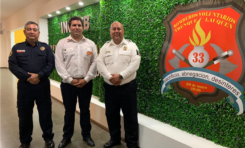 Participan bomberos chihuahuenses en curso de rescate urbano e industrial en Argentina