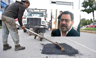 Propone Morena pavimentar baches con el 30% del dinero de las multas viales