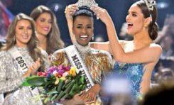 Miss Sudáfrica fue coronada ayer como Miss Universo 2019