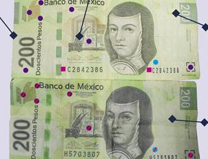 Emite DSPM recomendaciones para distinguir y detectar billetes falsos