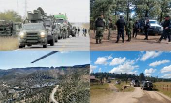 Implementan operativo tierra-aire en Las Pomas por ataque de grupo armado