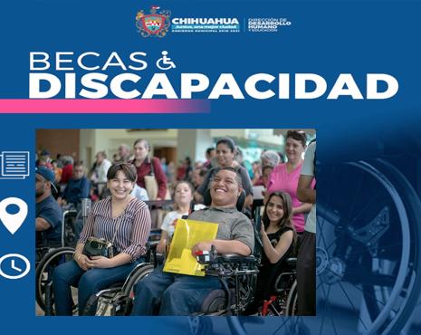 Este domingo 19 de enero se publica la convocatoria para becas de discapacidad