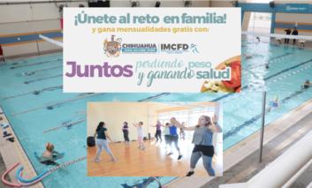 """Municipio invita a familias al reto """"Juntos perdiendo peso y ganando salud"""""""