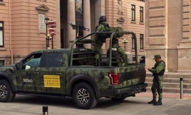 Se reunen autoridades de seguridad en Palacio de Gobierno