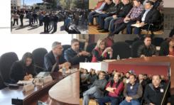 Se reúnen diputados con concesionarios del transporte en Congreso del Estado