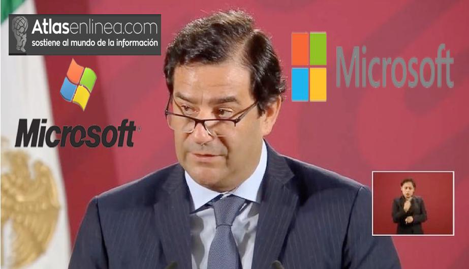 "Anuncia Microfoft  ""Plan innovar con México""; Invertirá mil 100 mdd en el país"