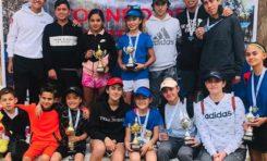 Niños chihuahuenses logran primeros lugares en Regional de Tenis 2020