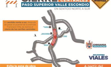 Anuncia Municipal cierre de carriles en Periférico de la Juventud el 30 de marzo