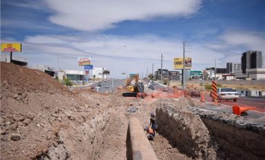 Exhorta Municipio utilizar vías alternas por construcción del paso superior en Juventud y Valle Escondido