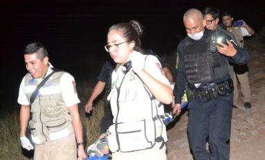 Rescatan a dos heridas y un ebrio del cerro El Pescadito