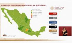 Suman 1215 casos y 29 muertos de Coronavirus en México: 121 casos y 1 muerto en un día