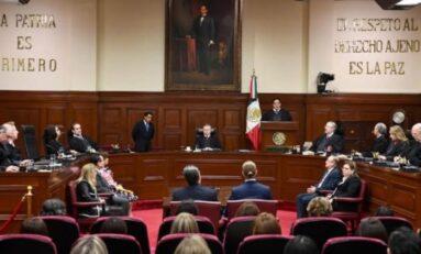 Los Ministros de la Suprema Corte suspende labores por Covid-19