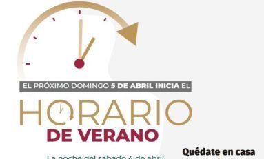 Este domingo iniciará el Horario de Verano en Chihuahua