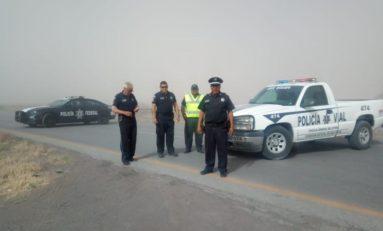 Emite Protección Civil aviso preventivo por vientos fuertes en el estado